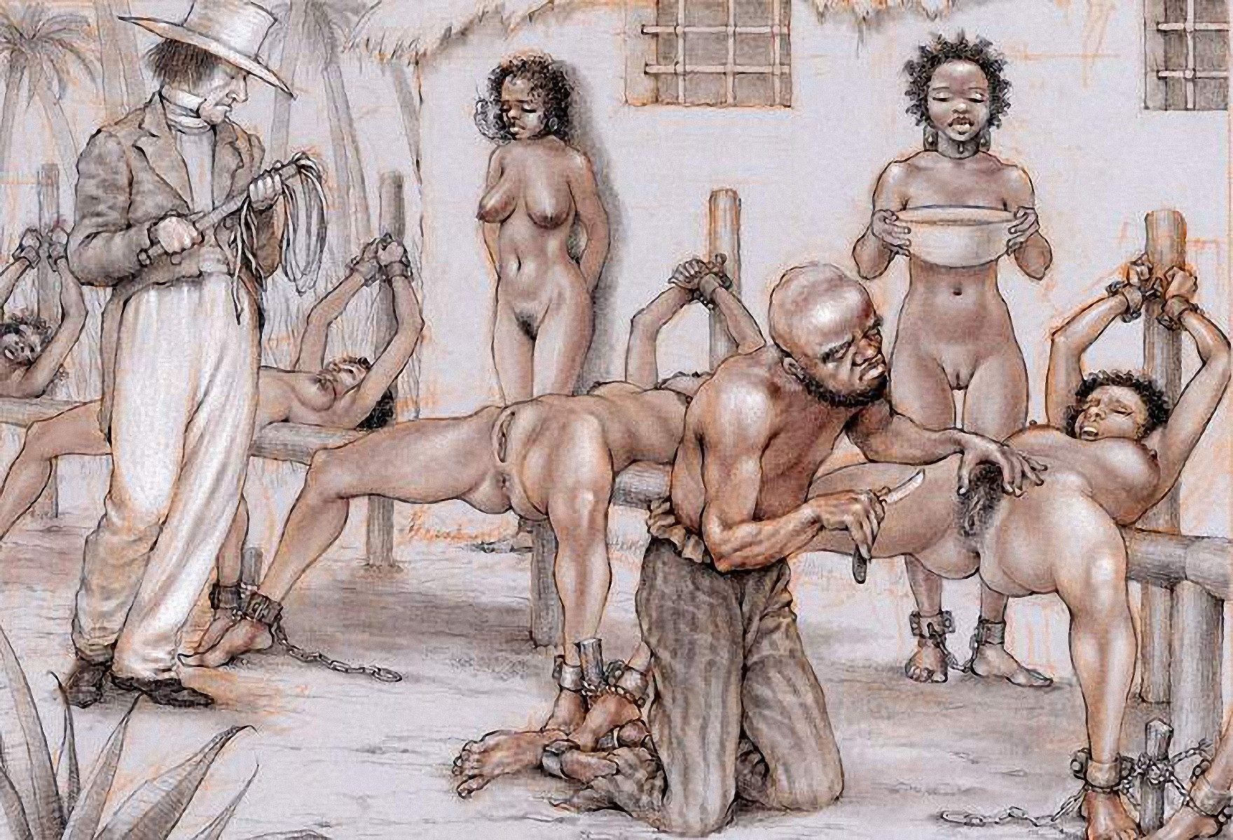 Porno slave drawing picture nudes movie