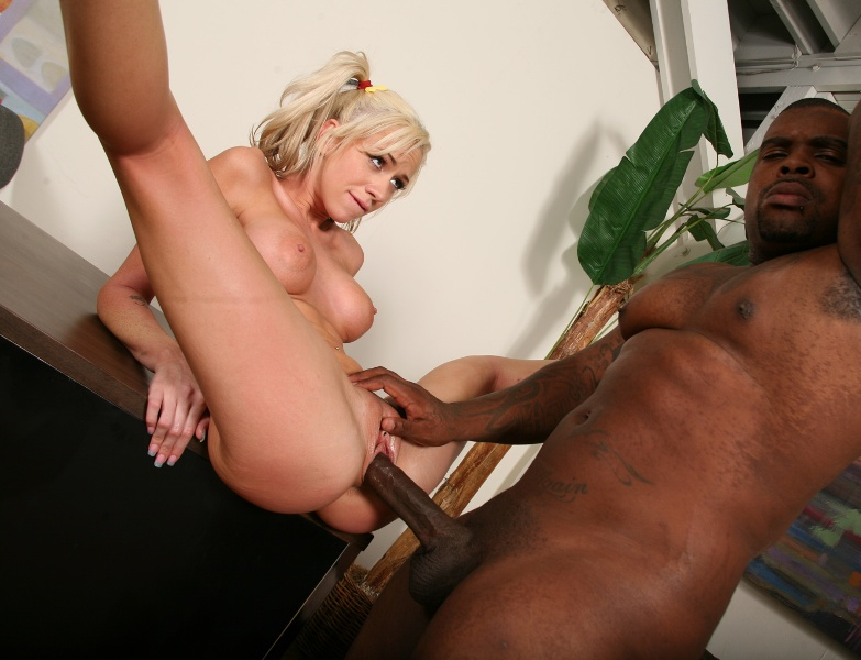 Sex free interracial blonde milf and black