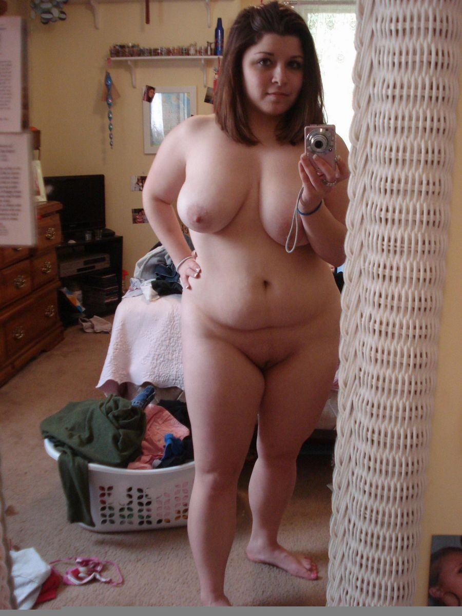 self shot nude Chubby