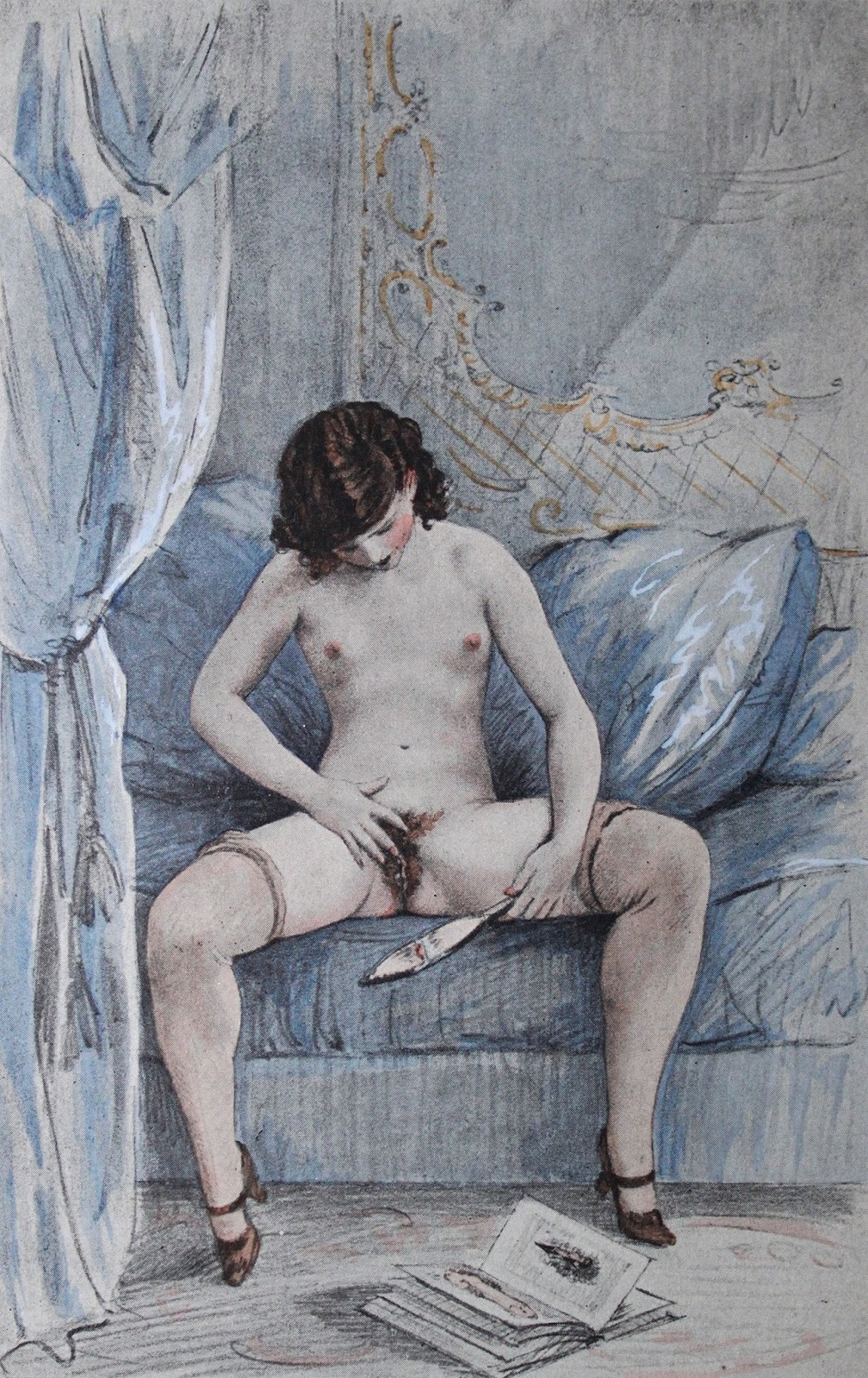 Female nude codes in painting