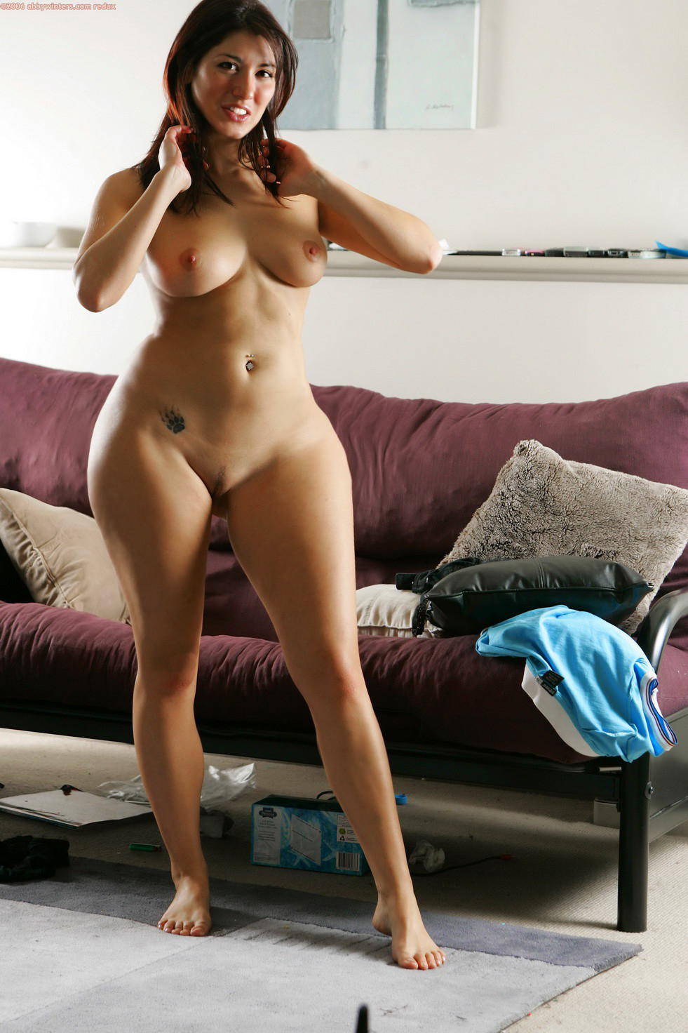 Nude Wide Hips Of Asian