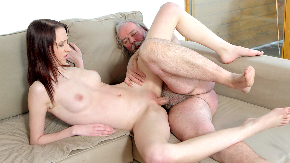Old Man Fucks Teen