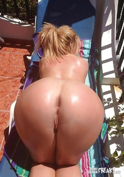 ass pawg Big blonde