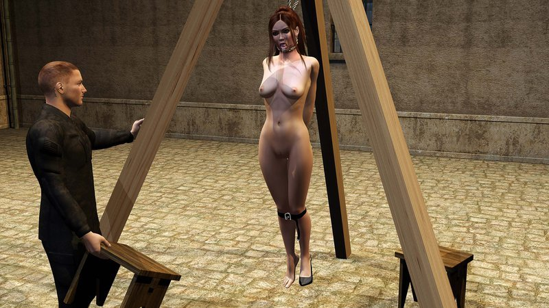 Bdsm hanging execution roleplay