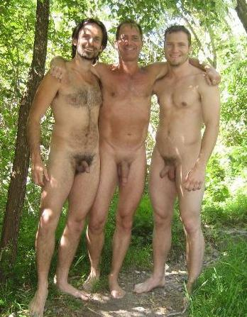Nude men nudist families