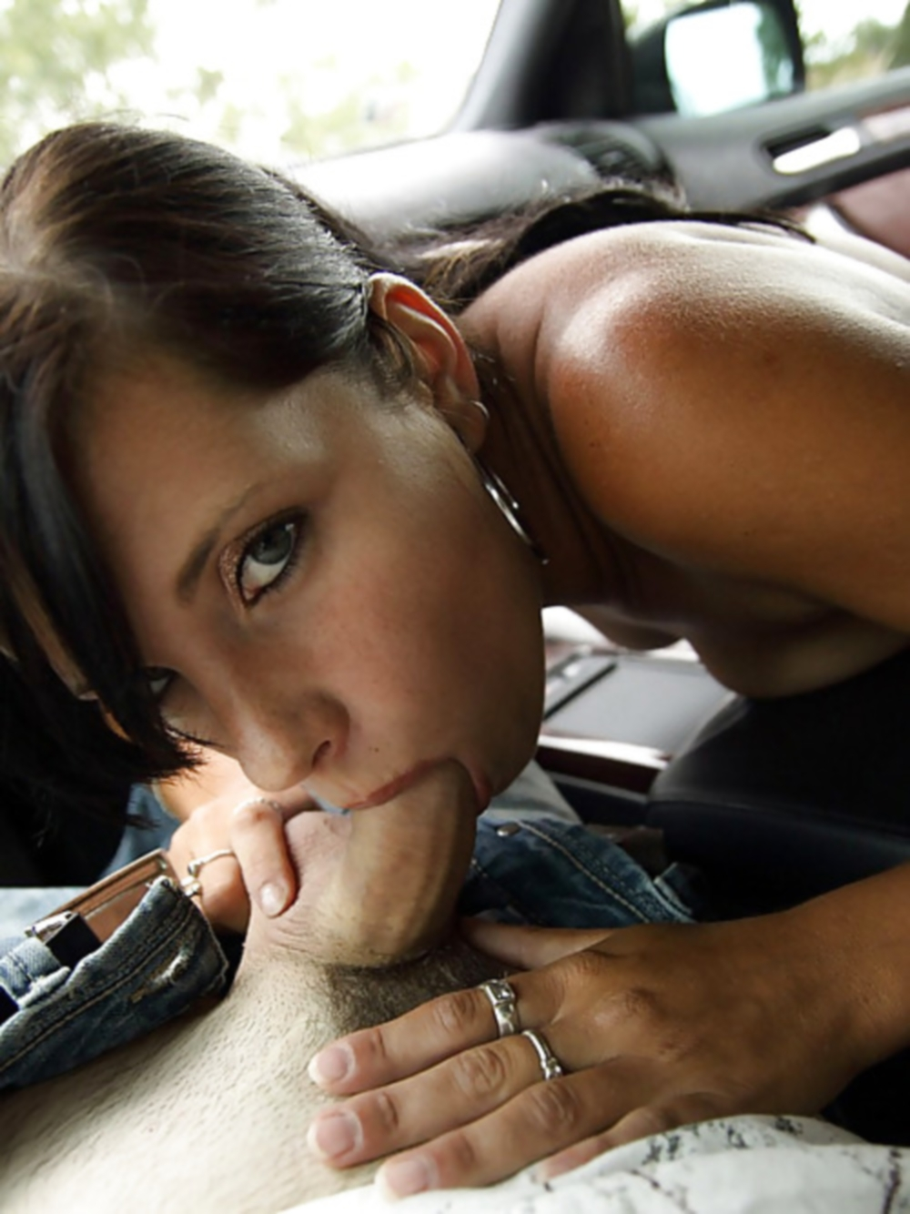 Sucking Big Dick And Car