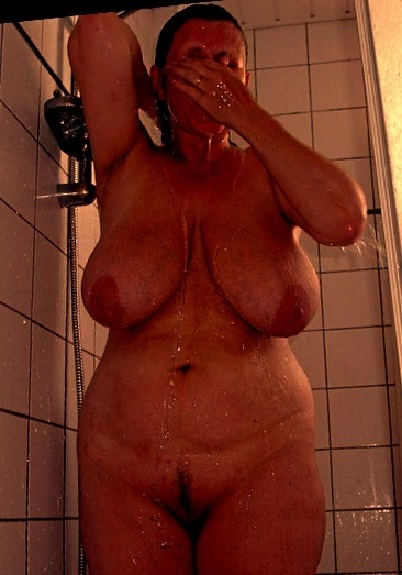 Huge wet hairy granny pussy