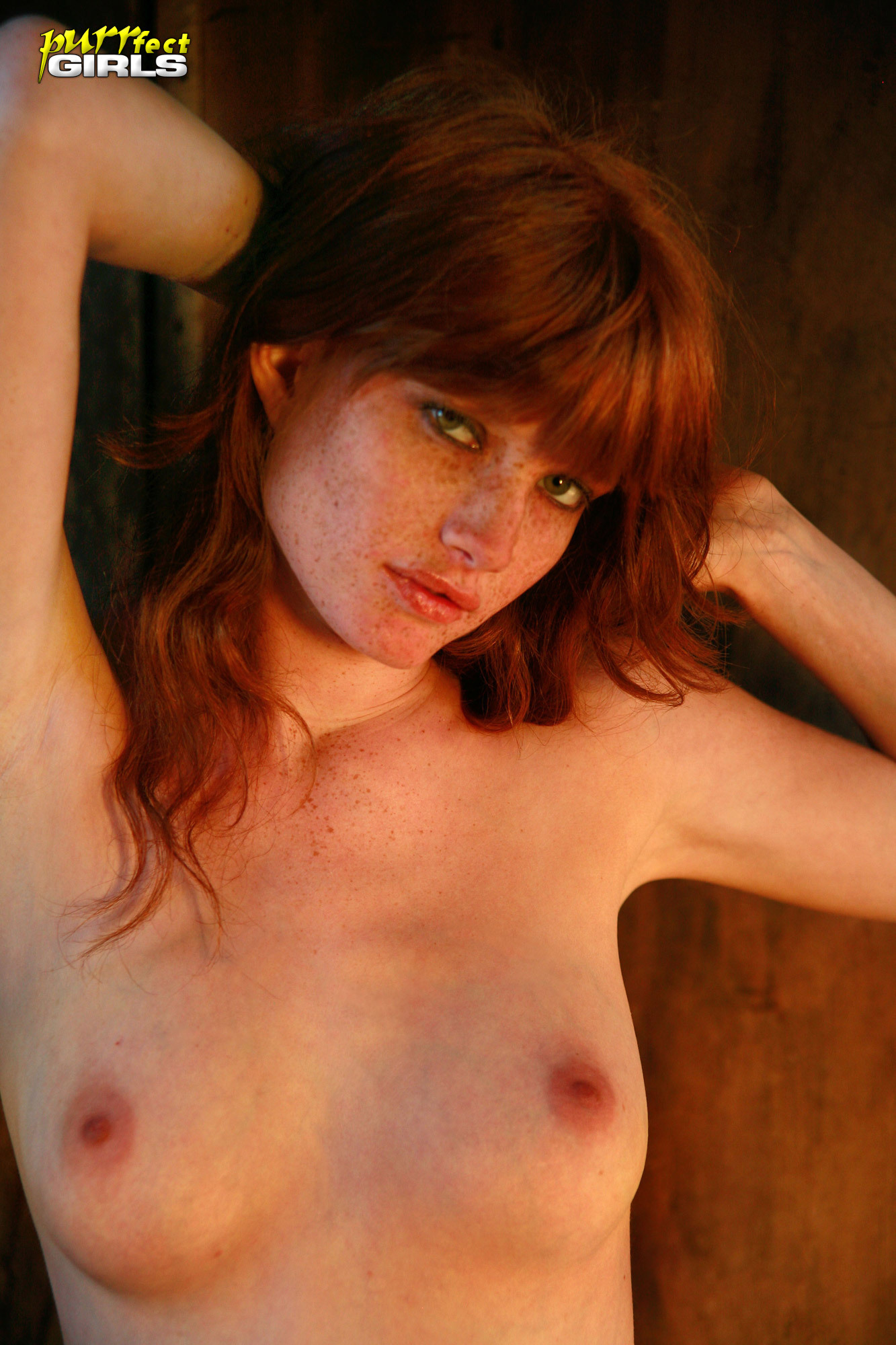 Women with freckles nude