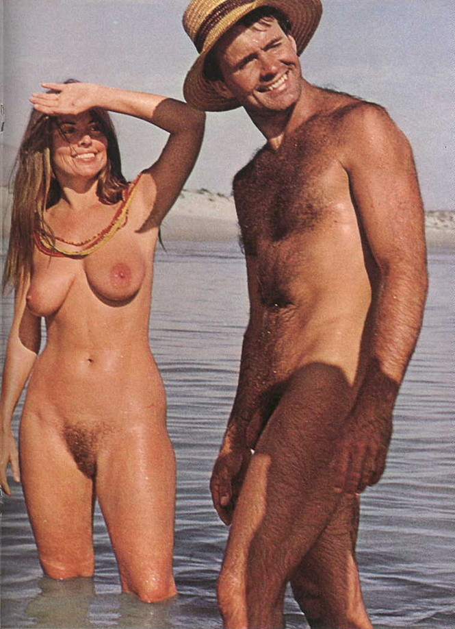 nudist couples Vintage