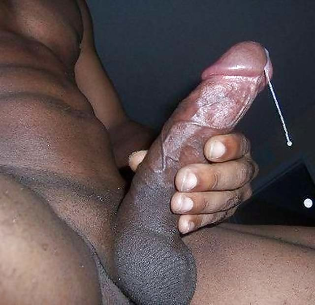 Black guy cum