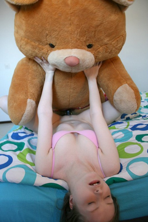 Teen Girl Fucks Teddy Bear