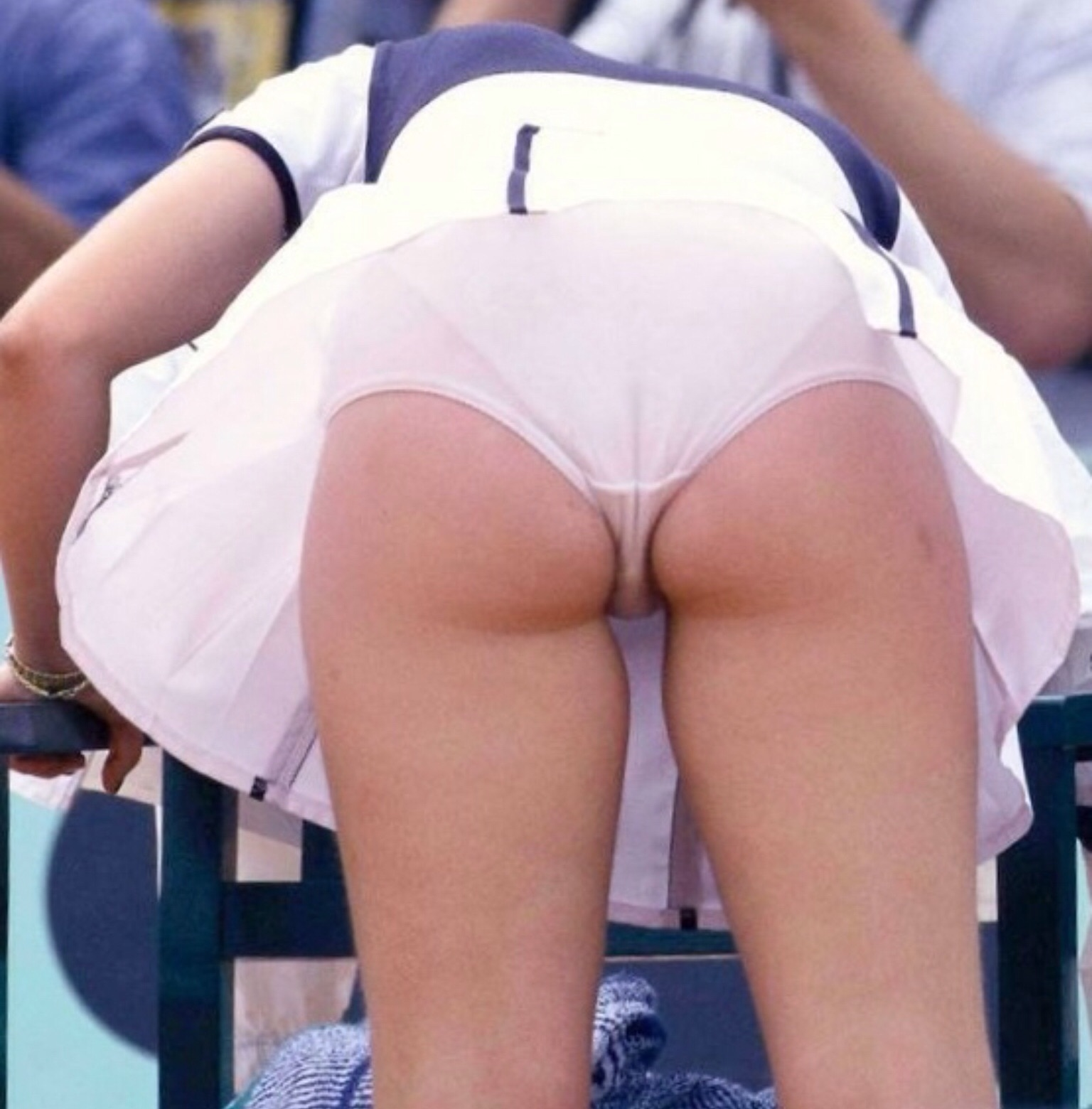 Love Anna kournikova tennis upskirt fake ass