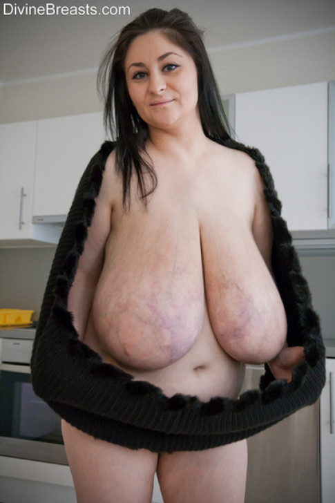 Monster saggy tits