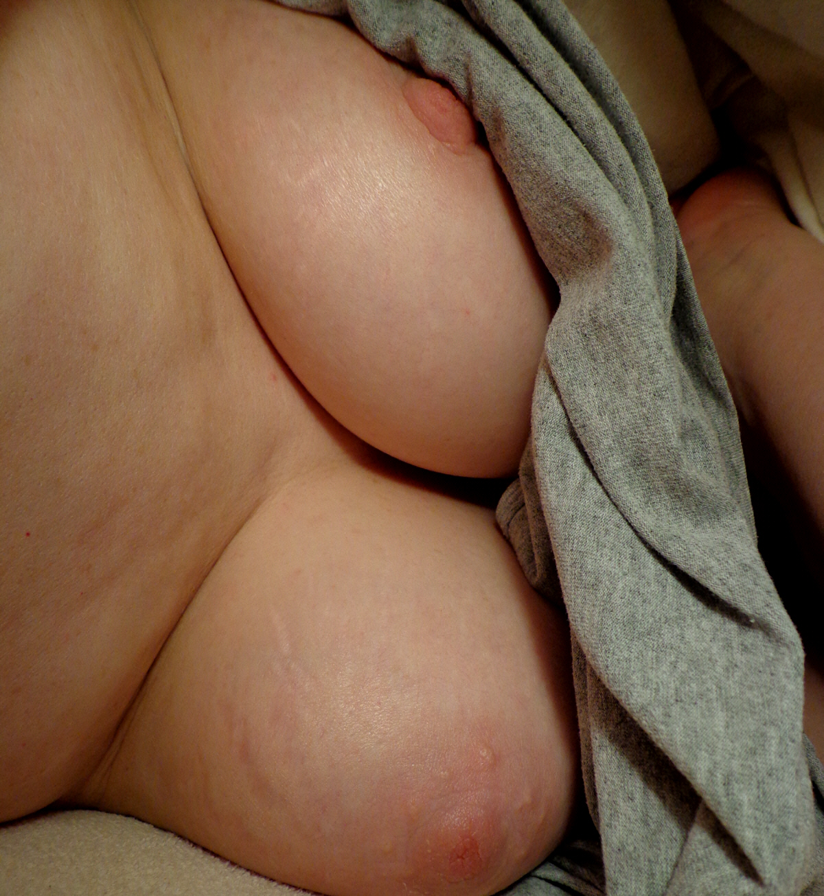 Tits sleeping