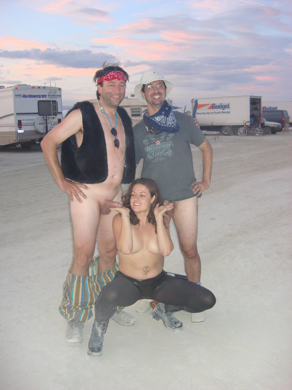 Variant does burning man porn happiness!