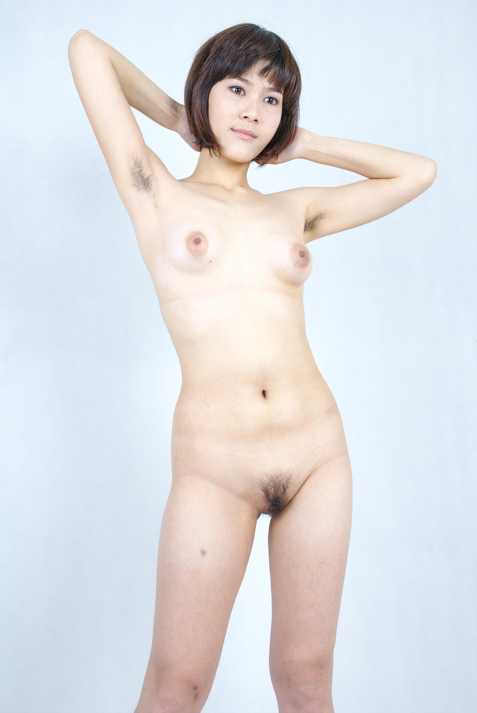Shorthair ginger naked girl