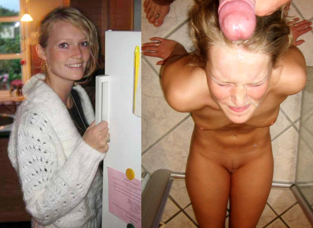 Before and after cum pics