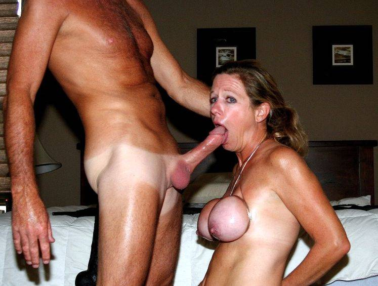 Night Cock gagging milf she