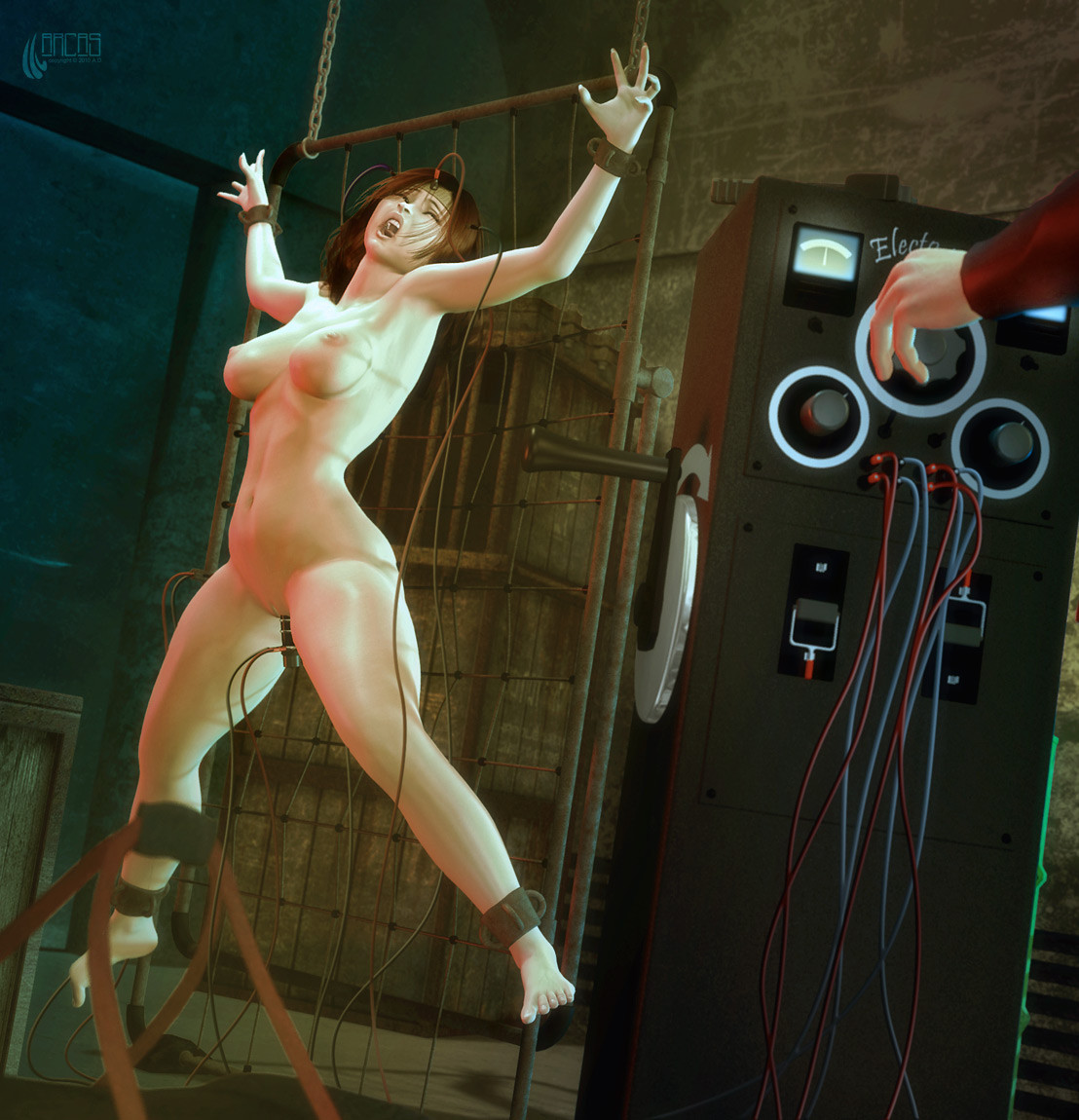 electro torture drawings Bdsm