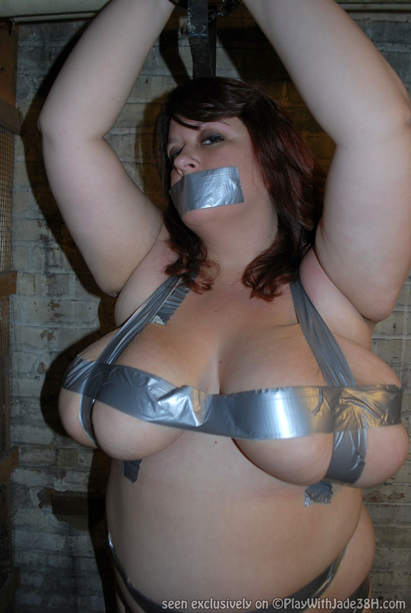 Agree, this Naked girl duct tape milf bondage think, what