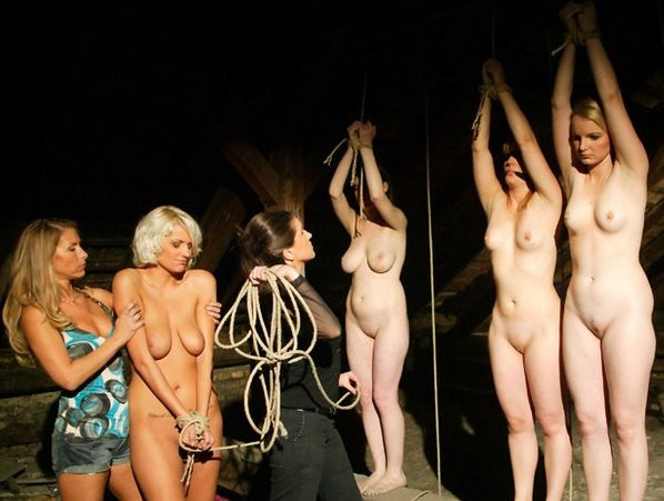 Nude sex slave auction curious