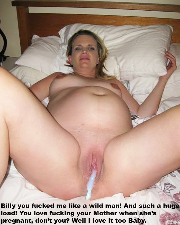 Son Creampies Pregnant Mom