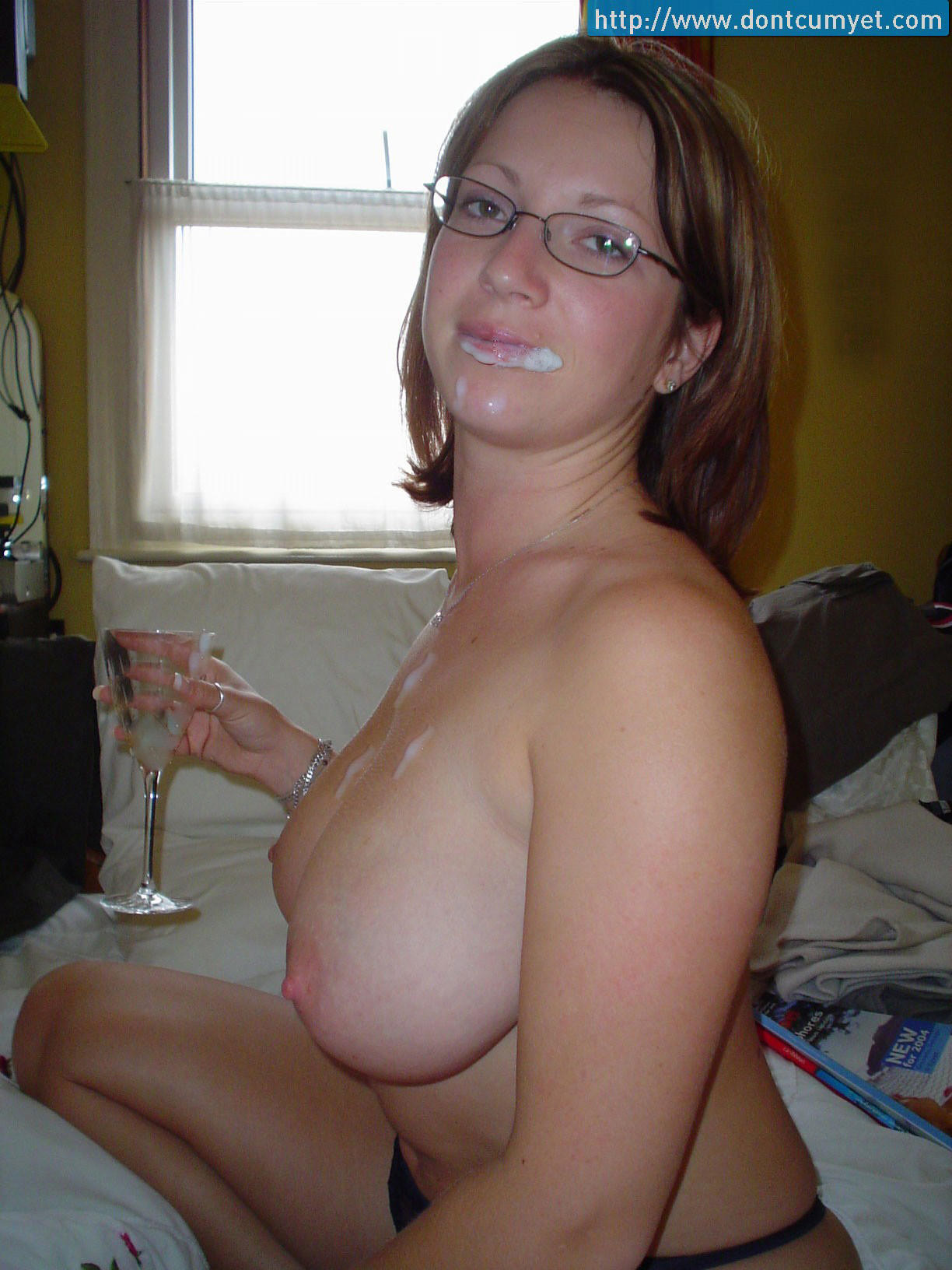 Sexy naked female chain