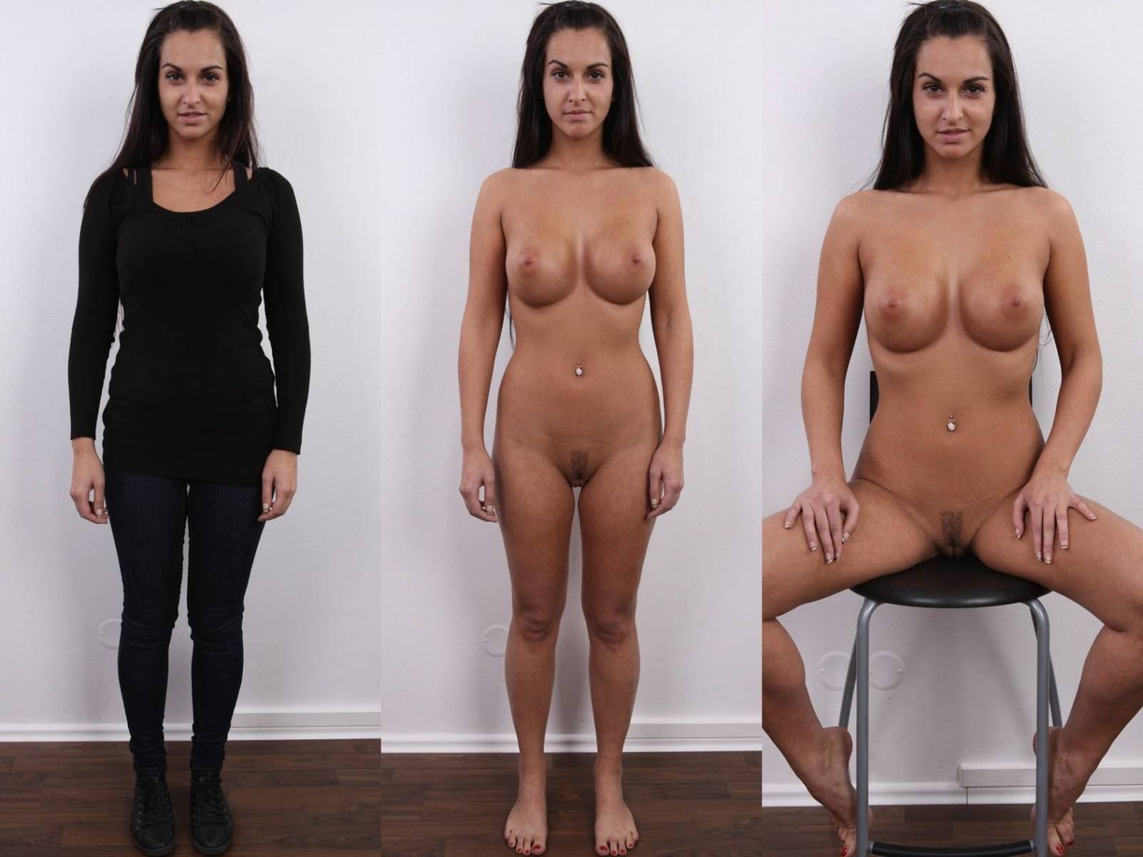 Clothed naked