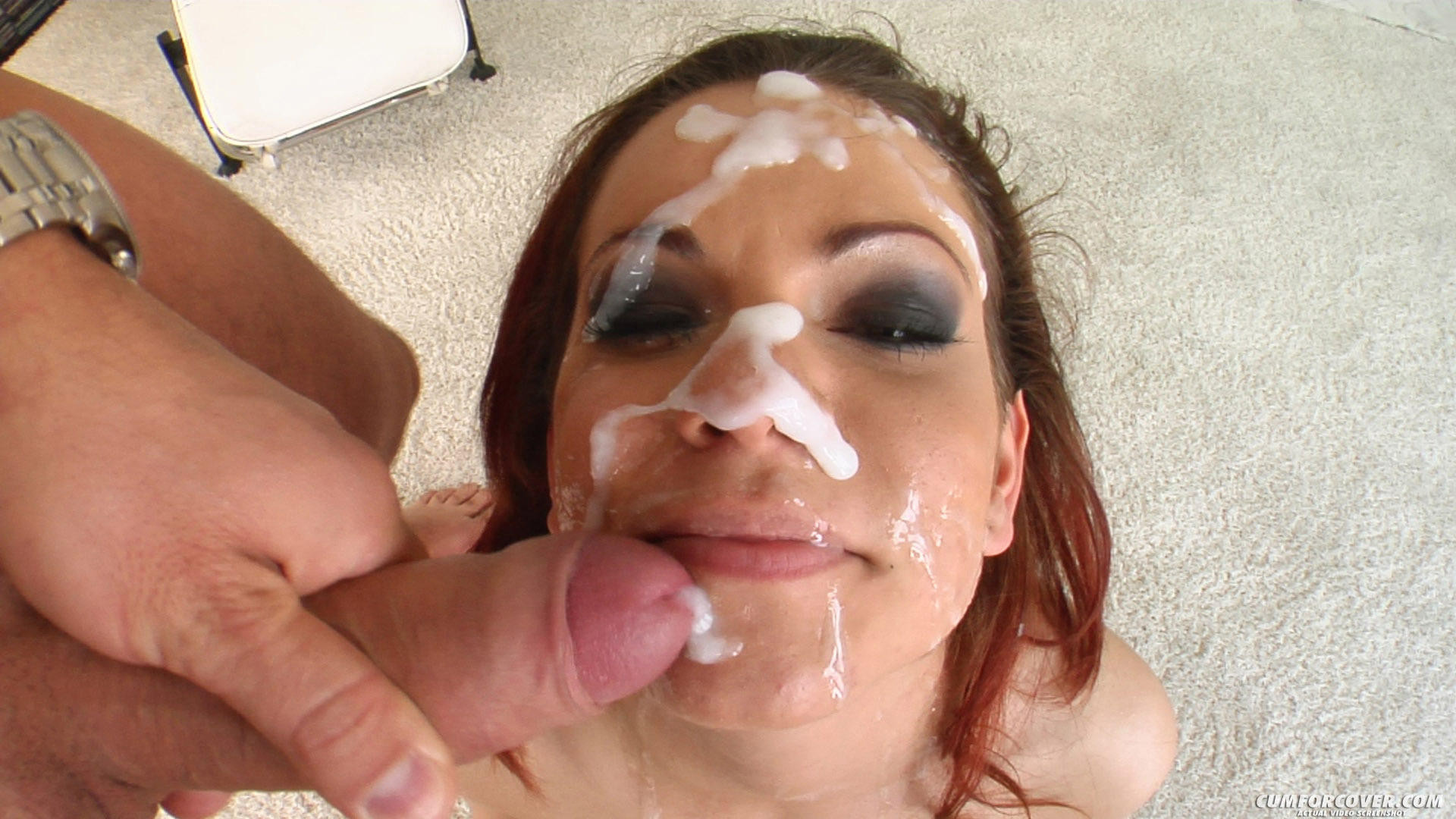 Milf extreme group facial load Puerto Rican