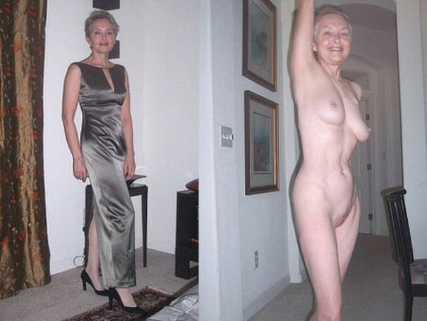 naked after Moms before and