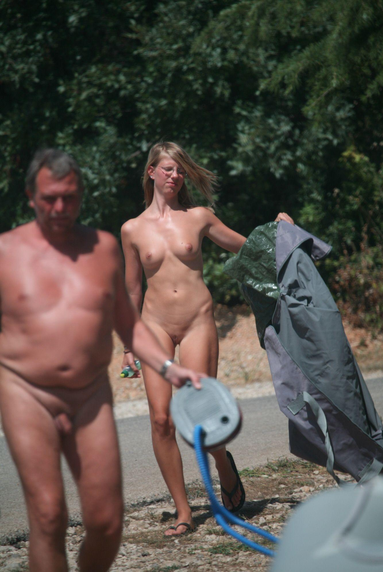 Camp couple nudist pic 3