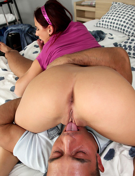Hot Girl Getting Eaten Out
