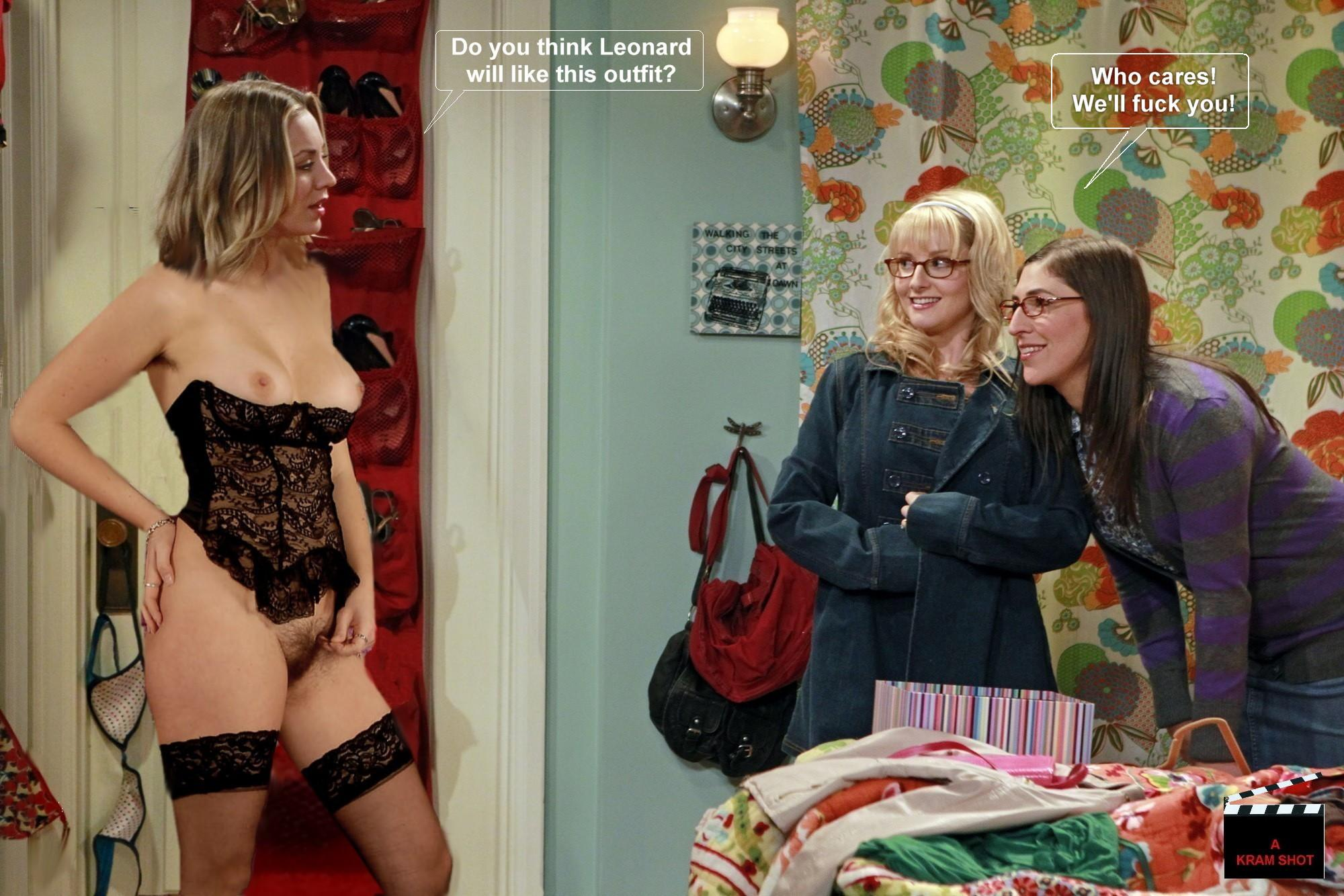 Penny from the big bang theory naked
