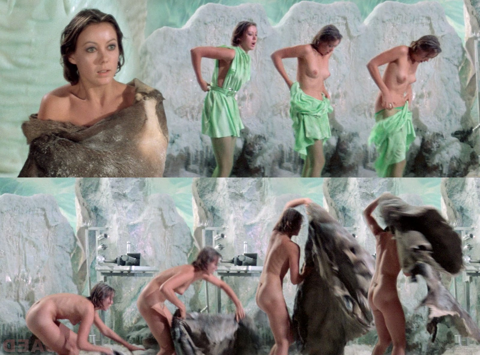 Nude run jenny agutter think, that