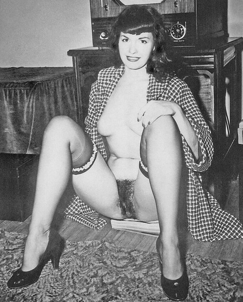 Betty page hardcore advise