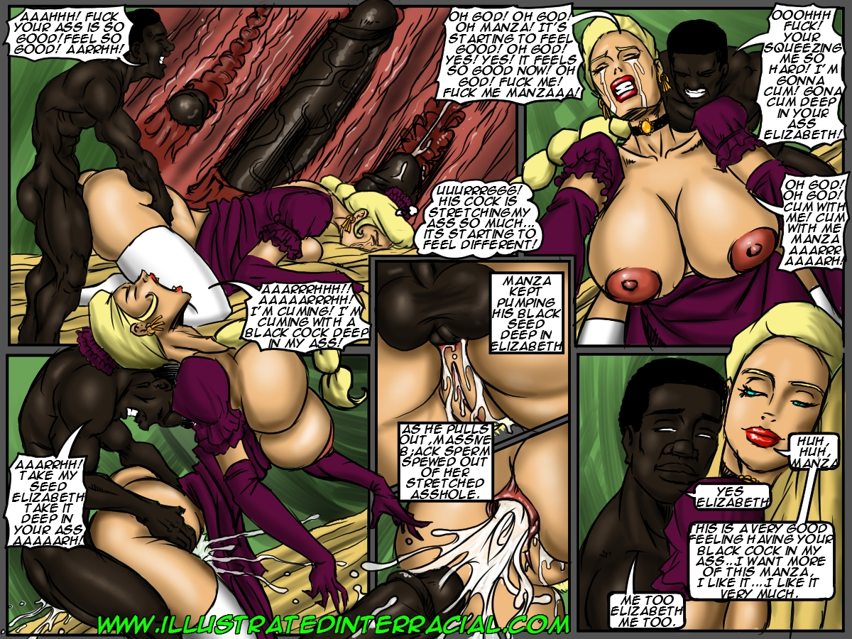comic interracial