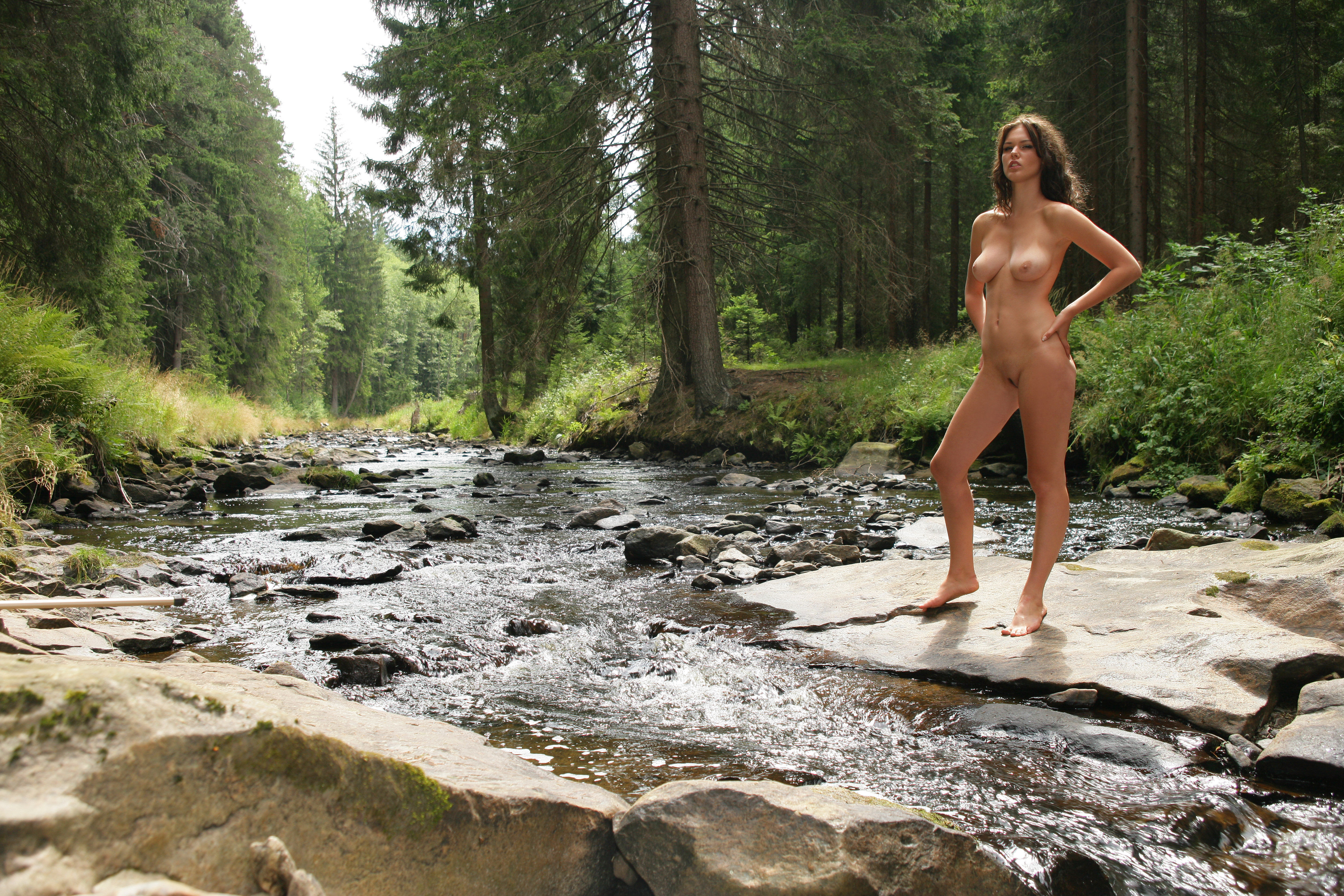 Naked Women In The Mountains
