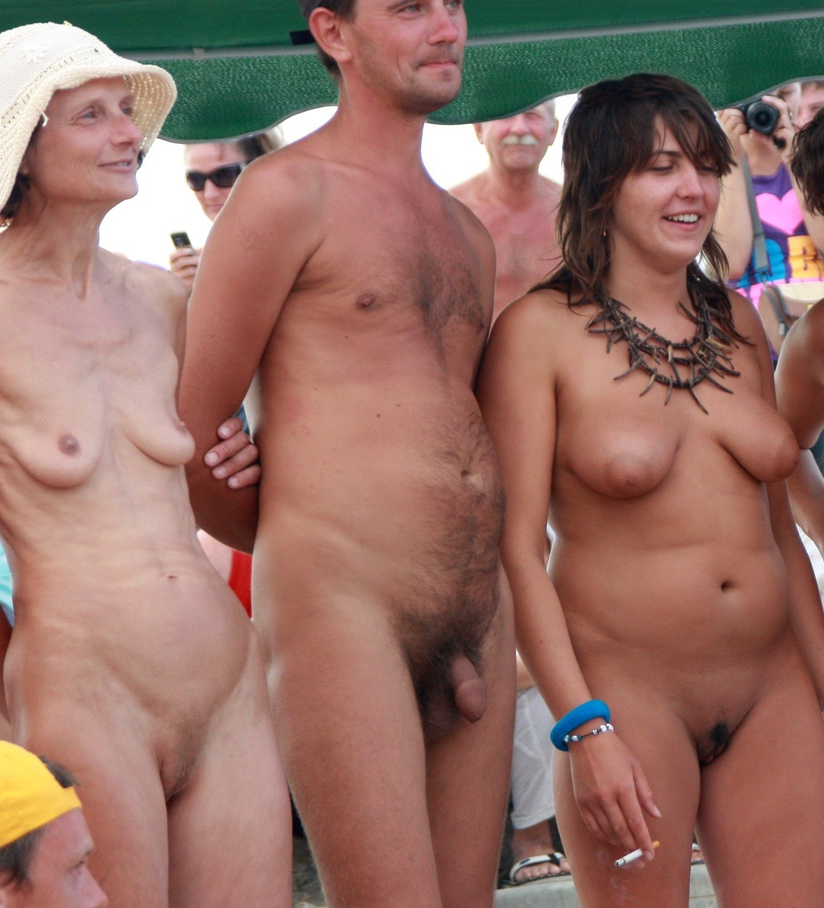 Beach nude people picture