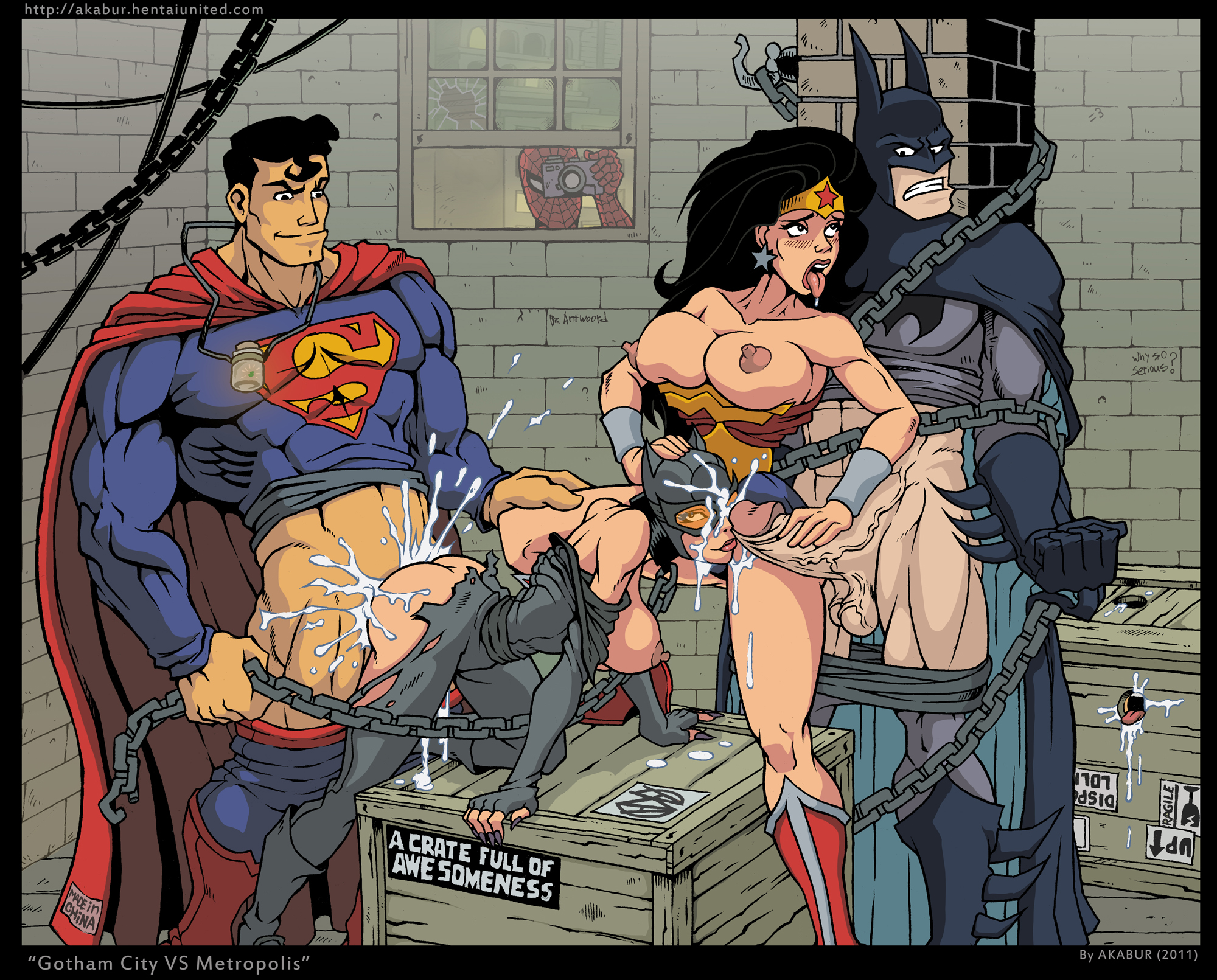 Dc comics porn videos