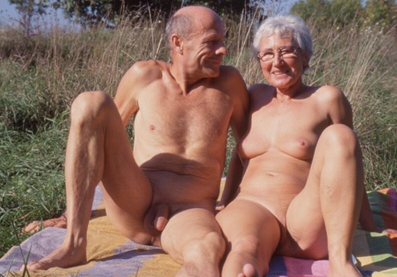 Sperm old couple nudist that great