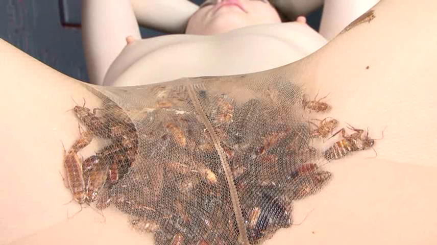 Girls naked with insects pictures