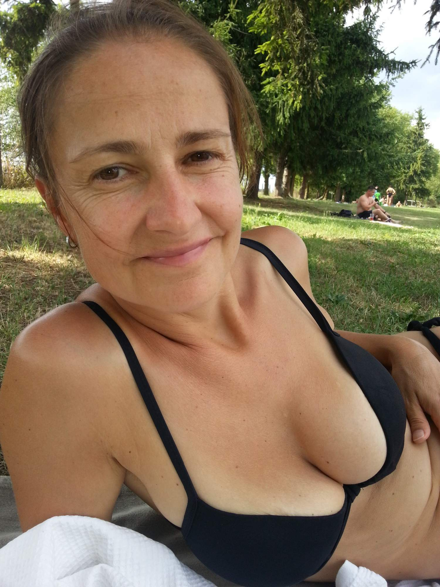 Tits matures Old Women