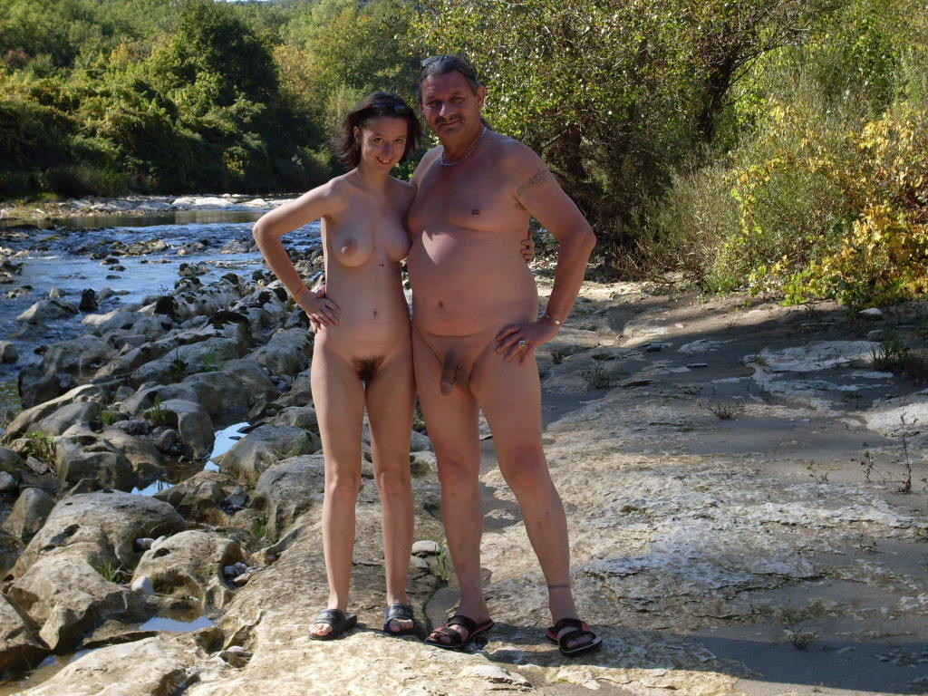 French nudist families