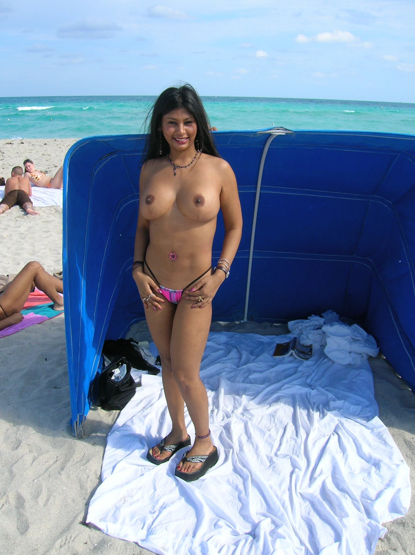 Apologise, but, wife beach semi nude