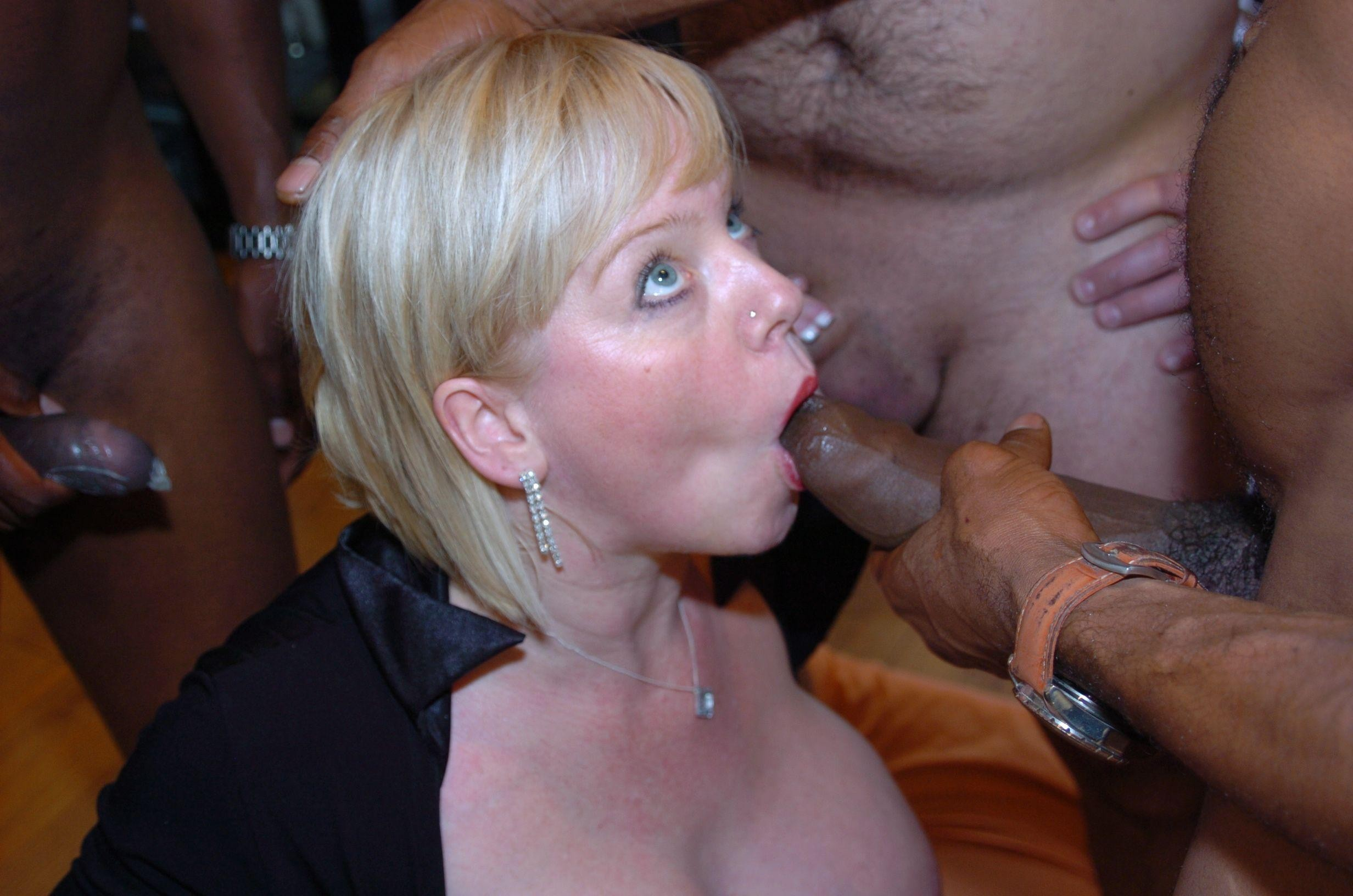 That ASS sucking big black cock these racist