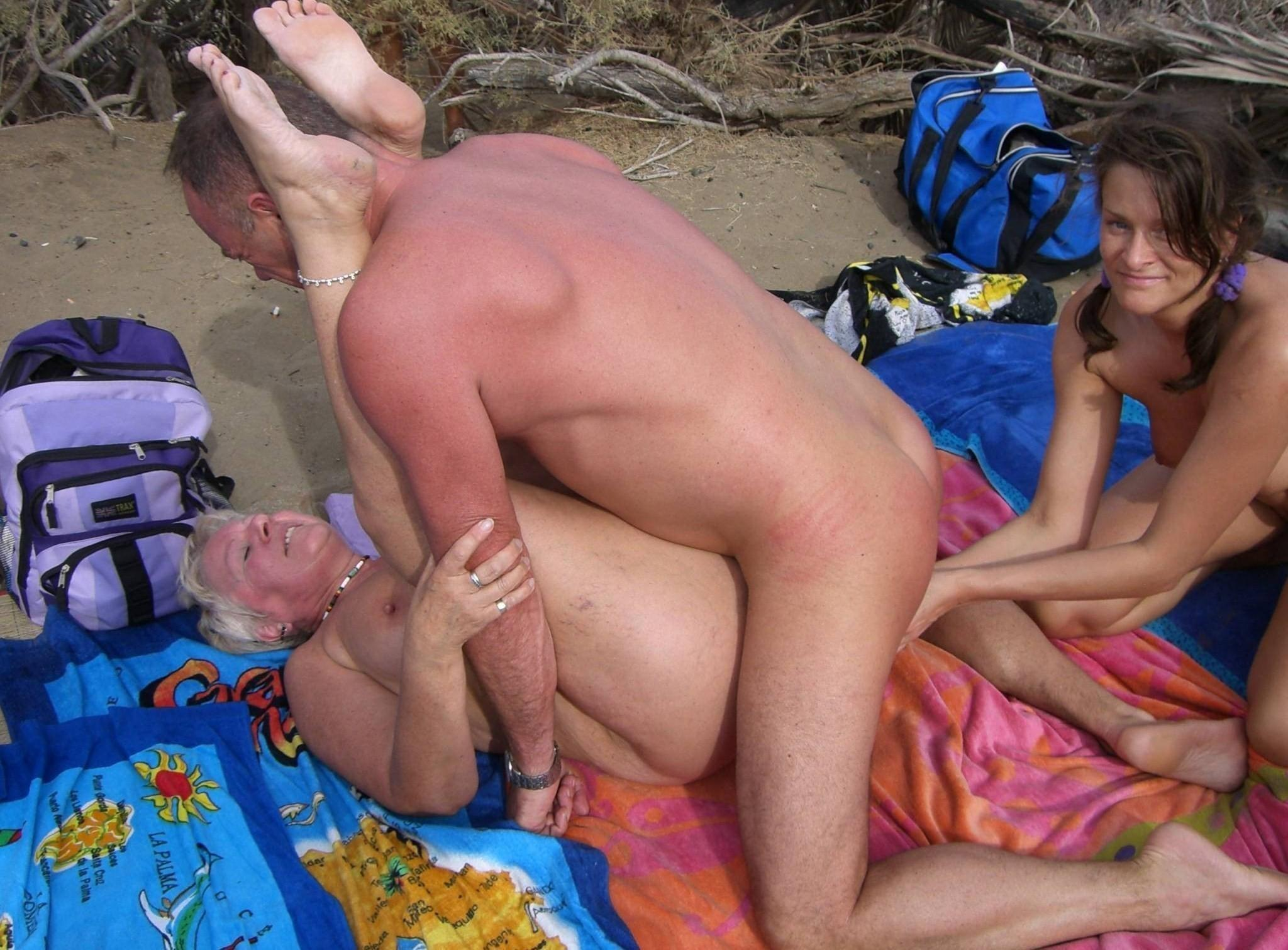 Mother son nude beach sex 12