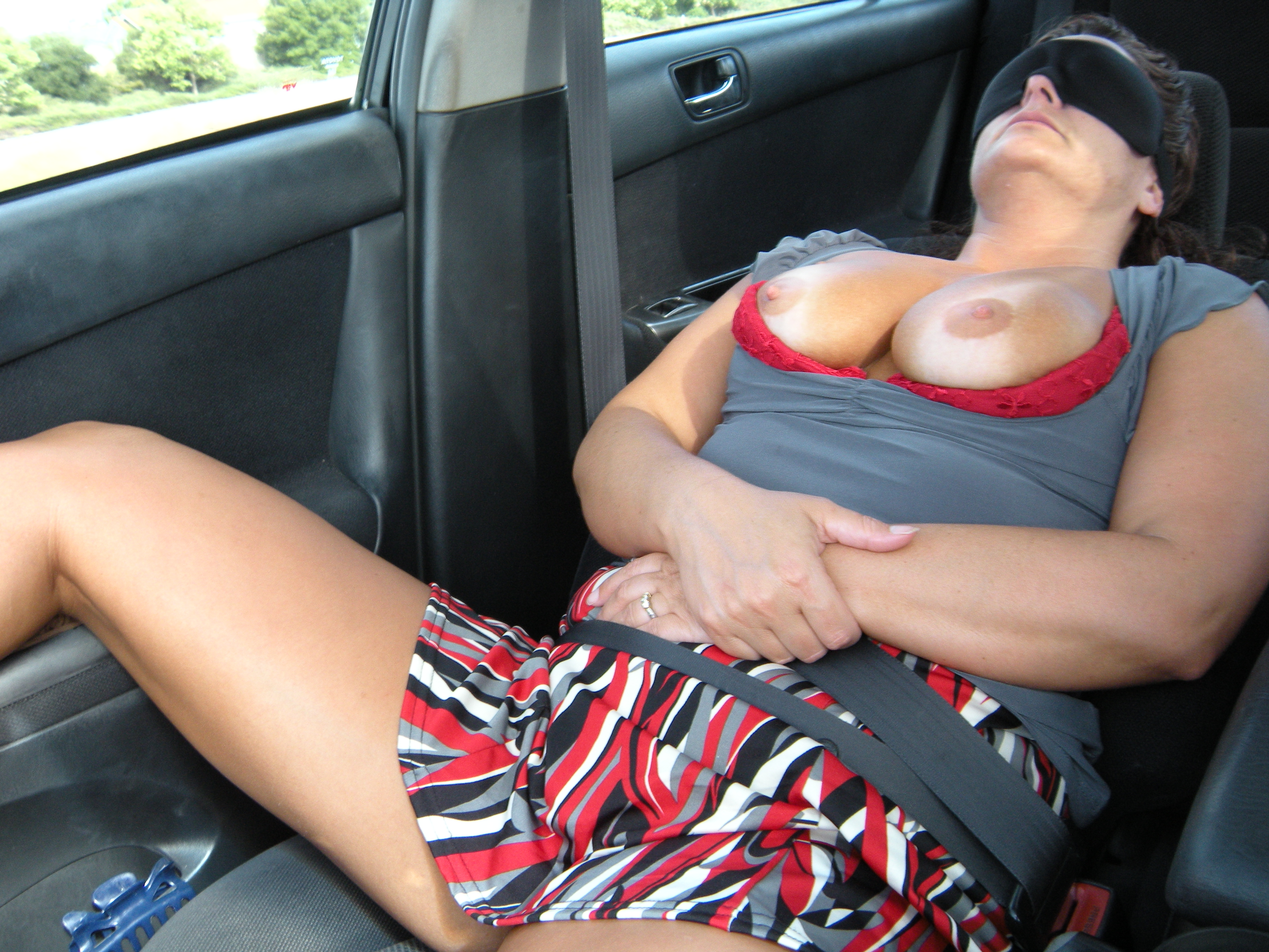 Wife nude in car pictures — 6
