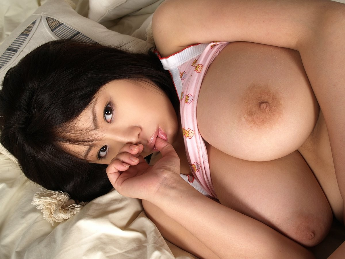 Japanese chick with big boobs