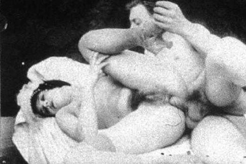 Victorian porn video, nude women first anal