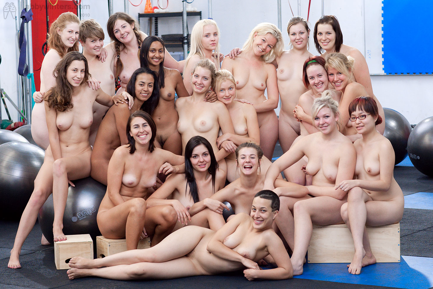 Sport girls groups naked